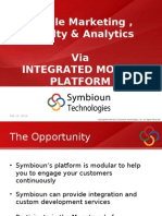Mobile Marketing via Integrated Mobile Platform