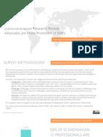 Scandinavia Buyer Behaviour Regional Research