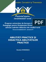 4.Abilitati Practice Si Didactica Abilitatilor Practice PIR D STOICESCU