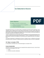 18 Tax Deducted at Source