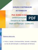 2-Absorção e Distribuição de Fármacos