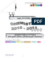 Unit 5 Chemistry Notes