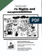 Womens Rights Presonsibilities