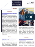 Newsletter Intercalar da CAMMP de Maio de 2015