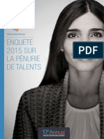 Pénuries de Talents 2015