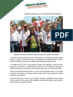 24-05-15 Confían en Kino y Miguel Alemán que Maloro Acosta será el próximo Presidente Municipal