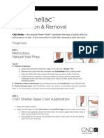 Shellac Application and removing