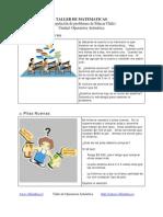 TALLER DE MATEMATICAS OPERATORIA ARITMETICA.pdf