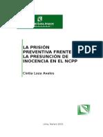 La Prision Preventiva