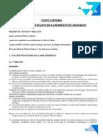 Requisitos Para Jurar - Con Formato