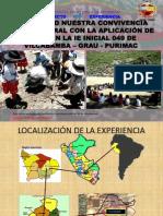 2. Experiencia Jardin 49 - Vilcabamba - Grau - Apurimac
