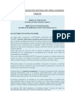 Manual de Navegacion Sistema Sap Para Usuarios Finales