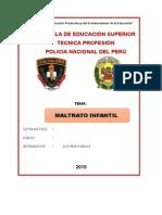 Proyecto Maltrato Infantil Pnp-hoy