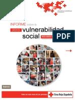 Informe Vulnerabilidad Social Cruz Roja