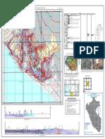 Mapa Geologico Del Cuadrangulo de La Yarada- Hoja 37- U-I