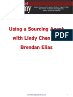 Using a Sourcing Agent With Lindy Chen and Brendan Elias