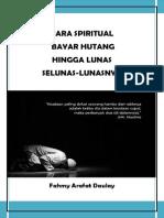 Cara Spiritual Bayar Hutang Hingga Lunas Selunas Lunasnya