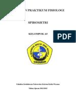 Laporan Praktikum Fisiologi Spirometri (Oke)