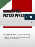 Manejo Del Estrés Personal
