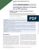 Vitamin D in IVF