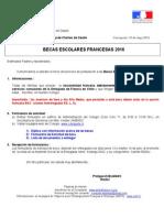 Lettre Aux Parents - Bourses Françaises 2016