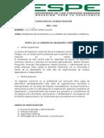 Perfil de La Carrera de Ingeniería Comercial_luis Cañar