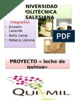 Proyecto Presupuestos Quinua