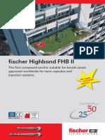 Anclaje Highbond-fijacion Fischer