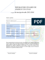 Curso Preparatorio Examen de Admision Uni