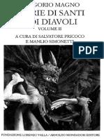 Gregorio Magno - Storie Di Santi e Di Diavoli Vol II