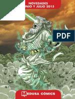 266450270 Novedades Medusa Comics Junio Julio 2015