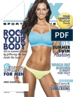 JUNE 2015 ISSUE MAX SPORTS & FITNESS MAGAZINE
