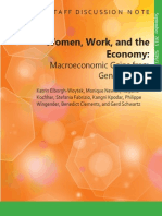 Women, Work, And the Economy Macroeconomic Gains From Gender Equity