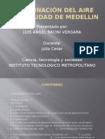 ContaminacindelaireenlaciudaddemedellinDIAPOSITIVAS