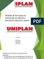 Biossegurança - medidas de infecção e precaução padrao e especificas.pptx
