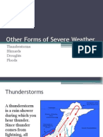 other forms of severe weather