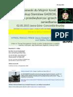Kontrole na granicy z Niemcami PDO123 VITRIOL PKN30 von Stefan Kosiewski CANTO DX