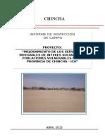 Informe de Inspeccion de Campo