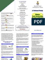 NBDB Filipino Book Readership, Reading Attitudes and Reading Preferences