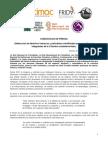 150525 COMUNICADO  Defensoras de derechos humanos y periodistas manifiestan preocupación por integrantes de la Colectiva Lesboterroristas