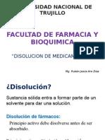 Disolucion de Medicamentos