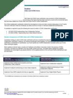 CCNA Collaboration Convergence Document