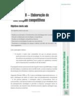 UvbAula Nº 10 – Elaboração de Estratégias Competitivas