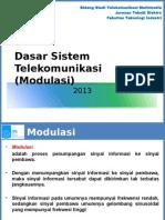 dasarsistemtelekomunikasimodulasi-140908201338-phpapp01
