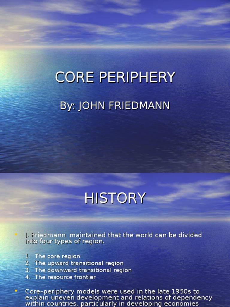 Core Periphery (Regional Planning)