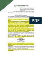 LEI Nº 4.457 - Instalação, Licenciamento e Funcionamento de Atividades Econômicas DF