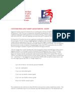 Customs and Tariff Fees-EG