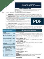 Info-traceess Numéro 36, le 25 Mai 2015