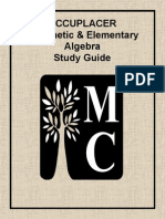 Accuplacer Study Guide_Math