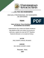 """Implementación de un Sistema de Gestión Académica bajo plataforma Web, para mejorar los procesos de matrículas y registros de notas del ISTP """"República Federal de Alemania"""", en la ciudad de Chiclayo."""